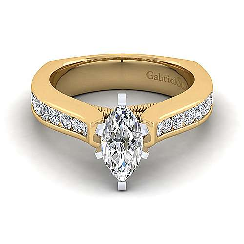 9ec2868ff355a 14k Yellow Gold Marquise Straight - ER4185M4M44JJ