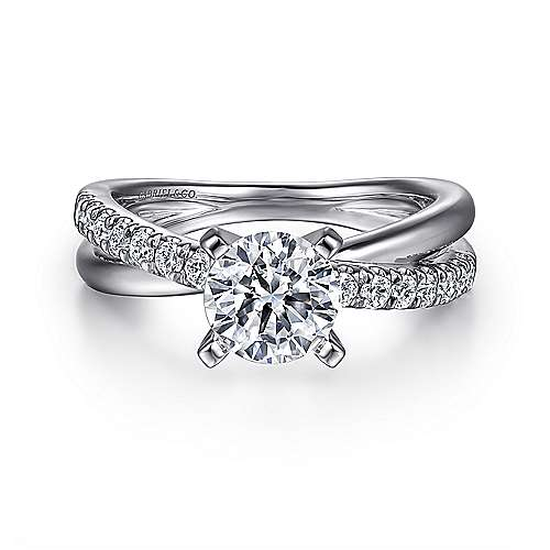 Free form engagement rings gabriel co for Wedding ring companies