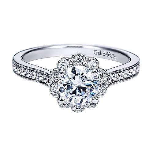 Gabriel - Platinum   Engagement Ring