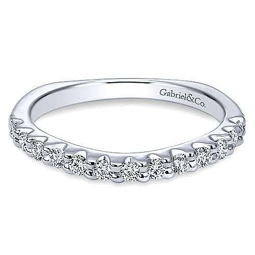 Gabriel - Platinum Contemporary Straight Wedding Band