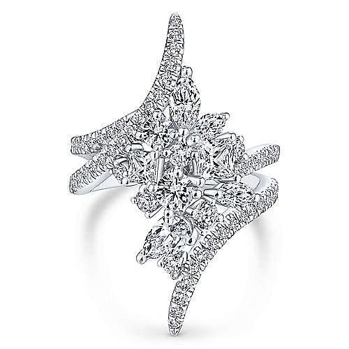 Platinum Diamond Ladies Ring
