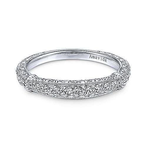Platinum Diamond Matching Wedding Band