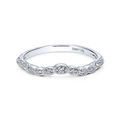 Gabriel - Platinum Diamond Wedding Band