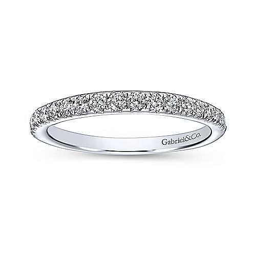 Platinum Diamond Wedding Band