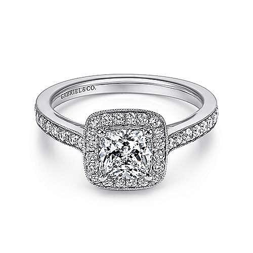 Gabriel - Platinum Engagement Ring