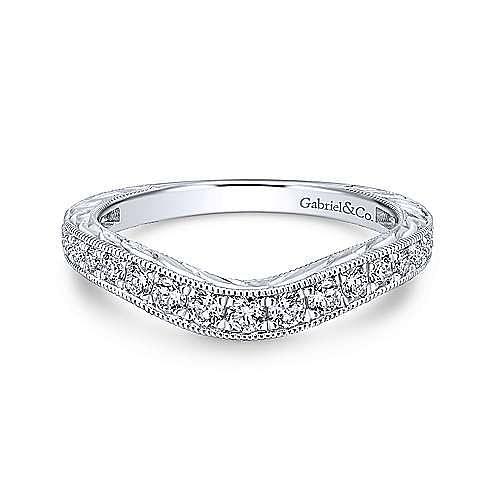 Gabriel - Platinum Matching Wedding Band