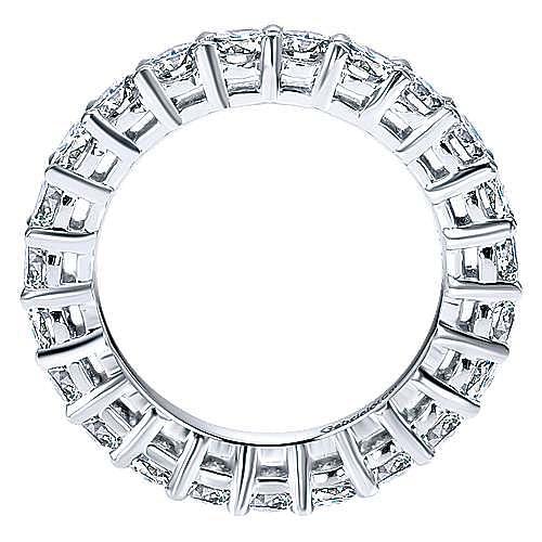 Platinum Shared Prong Eternity Band