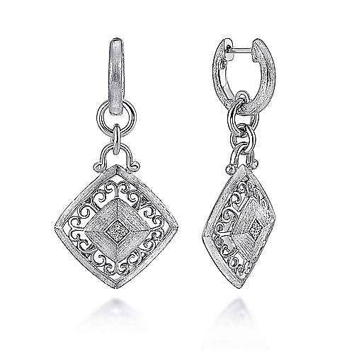 Gabriel - Silver  Fashion Earrings