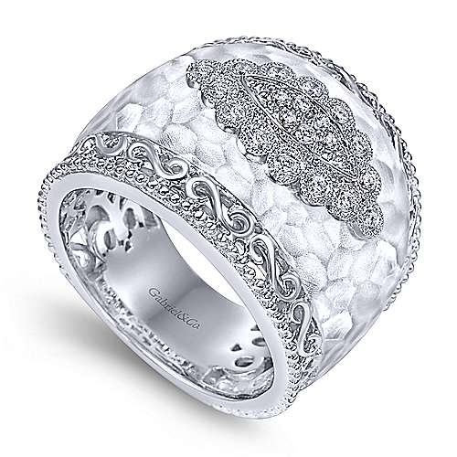 Silver  Fashion Ladies' Ring