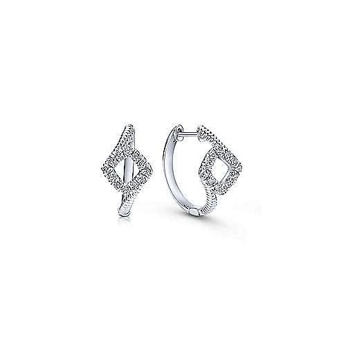 Gabriel - Silver 15MM Fashion Earrings
