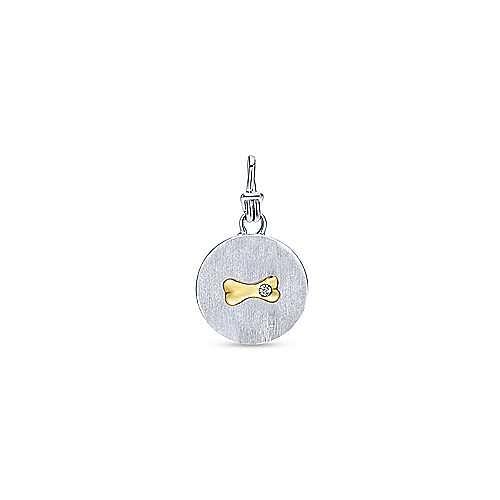 Gabriel - Silver-18K Yellow Gold  Fashion Pendant