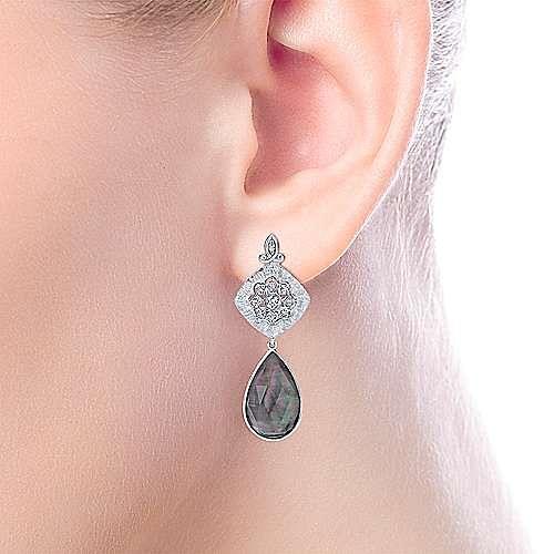 Silver Fashion Earring