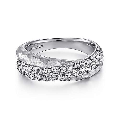 Gabriel - Silver Fashion Ladies' Ring