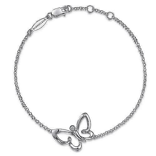 Gabriel - Silver White Sapphire Bracelet