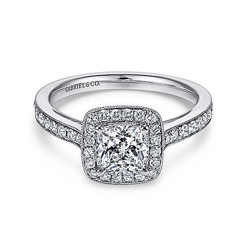 High Quality Cushion Diamond Engagement Ring Wedding Band Fashion Jewellery Surrey Langley Canada