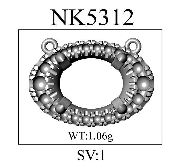 14K White Gold Oval Garnet and Diamond Halo Pendant Necklace angle