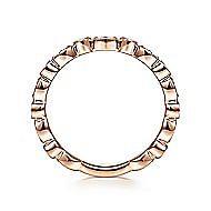 14K Rose Gold Diamond Ladies' Ring