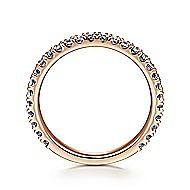 14K Rose Gold S.Alexandrite Fashion Ring