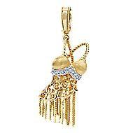 14K Yellow Gold  Fashion Pendant