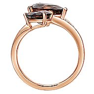 14k Rose Gold Lusso Color Fashion Ladies Ring