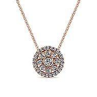 14k Rose Gold Messier Fashion Necklace