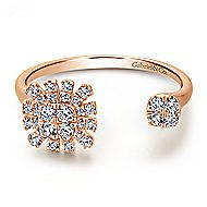 14k Rose Gold Starlis Fashion Ladies' Ring angle 1