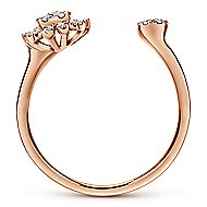 14k Rose Gold Starlis Fashion Ladies' Ring angle 2