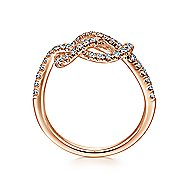Twisted & Entwined Rings | Gabriel & Co