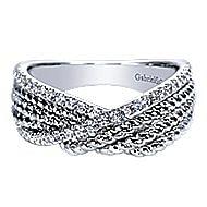 14k White Gold Hampton Fashion Ladies' Ring angle 1