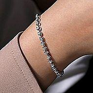 14k White Gold Lusso Tennis Bracelet