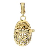 14k Yellow Gold Boca Charms Charm Pendant