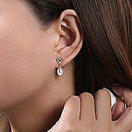 14k Yellow Gold Grace Drop Earrings