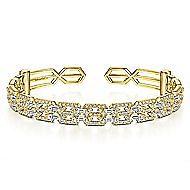 14k Yellow Gold Lusso Bangle