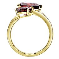 14k Yellow Gold Lusso Color Fashion Ladies Ring