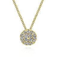 14k Yellow Gold Messier Fashion Necklace