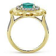 14k Yellow Gold Souviens Fashion Ladies' Ring angle 2