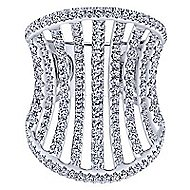 18k Rose Gold Contemporary Fashion Ladies Ring
