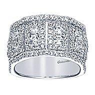 18k White Gold Allure Fashion Ladies' Ring angle 5
