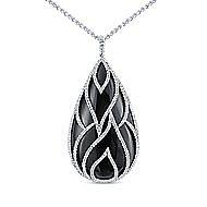 18k White Gold Amavida Fashion Fashion Necklace angle 1