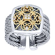3 Or More Metals Mixed Steel My Heart Fashion Ladies' Ring angle 4