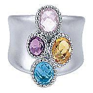 925 Silver Bujukan Fashion Ladies' Ring angle 1