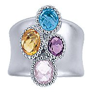 925 Silver Bujukan Fashion Ladies' Ring angle 4