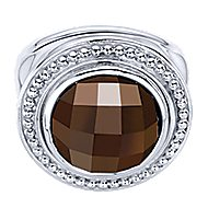 925 Silver Bujukan Fashion Ladies' Ring angle 1
