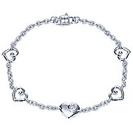 925 Silver Eternal Love Chain Bracelet
