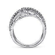 925 Silver Fashion White Sapphire Ladies Ring