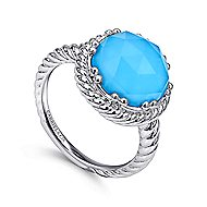 925 Silver Hampton Fashion Ladies Ring