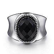925 Silver Hampton Fashion Ladies' Ring angle 1