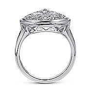 925 Silver Madison Fashion Ladies' Ring angle 2