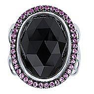 925 Silver Mediterranean Statement Ladies' Ring angle 4