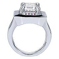 925 Silver Mediterranean Statement Ladies' Ring angle 2